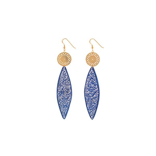 Χειροποίητα σκουλαρίκια Myth από πολυμερή πηλό | Εκκεντρικά Χειροποίητα κοσμήματα limelight by katerina sfinari