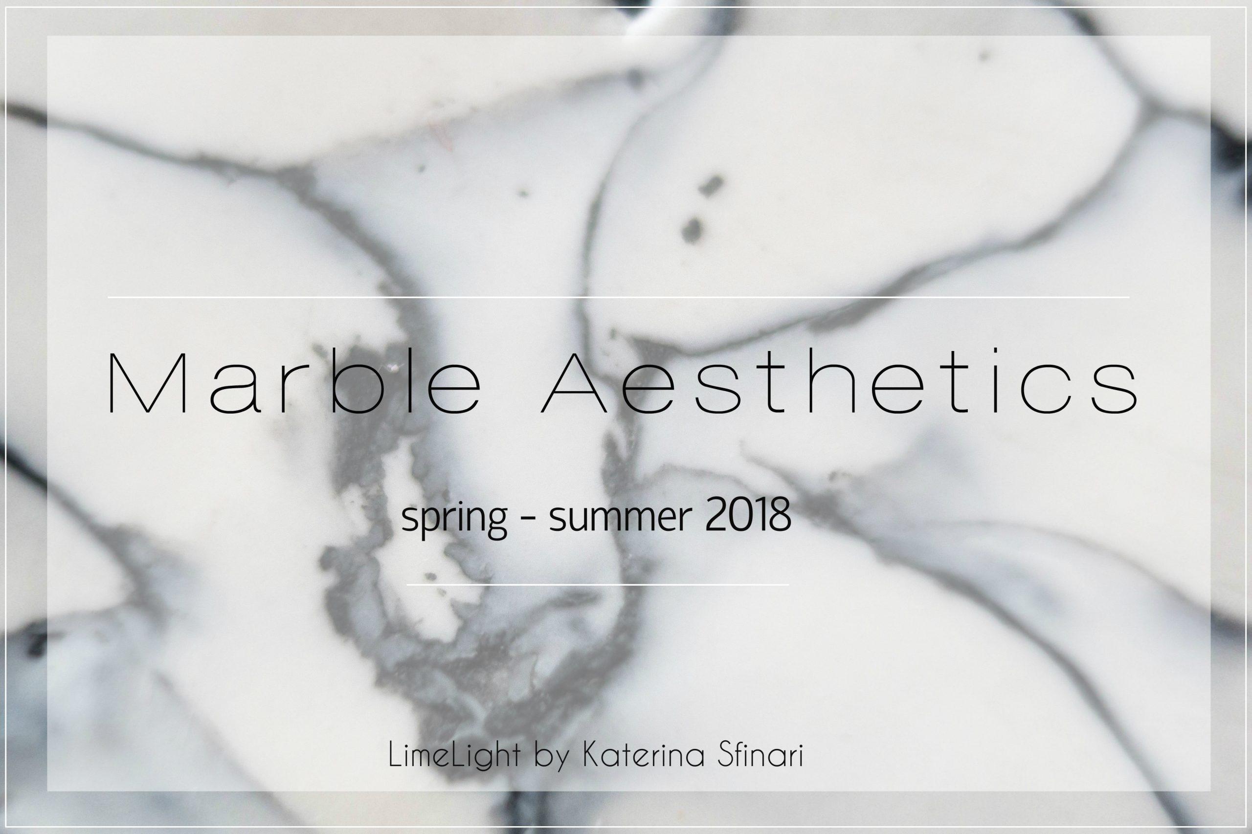 Εκκεντρικά γεωμετρικά χειροποίητα σκουλαρίκια από τη συλλογή Marble Aesthetics | Χειροποίητα κοσμήματα LimeLight By katerina sfinari