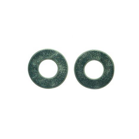 LimeLight by Katerina Sfinari circular stud greek earrings