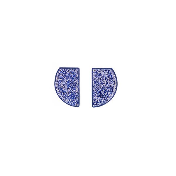 Χειροποίητα σκουλαρίκια Galaxy από πολυμερή πηλό | Χειροποίητο κόσμημα LimeLight By Katerina sfinari