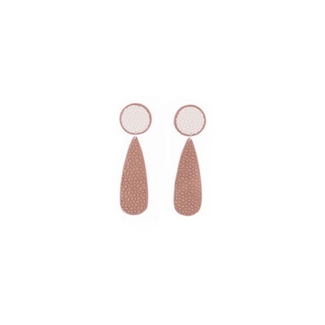 geometrical elegant fashion statement earrings