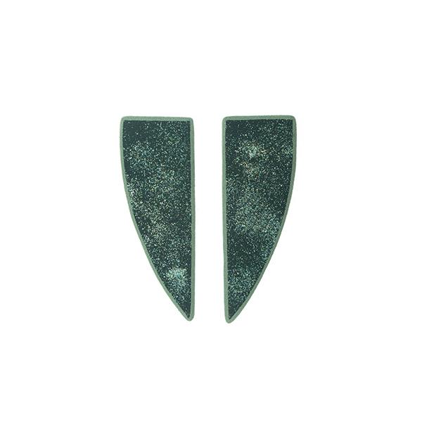 Χειροποίητα σκουλαρίκια Artemis από πολυμερή πηλό | χειροποίητα κοσμήματα limelight by katerina sfinari