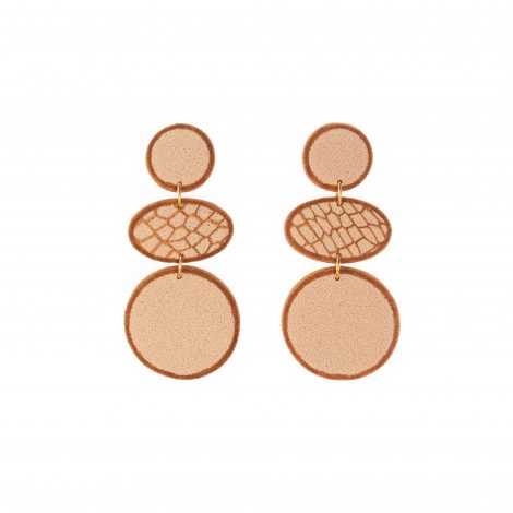fashion statement polymer clay earrings