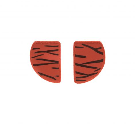 handmade polymer clay mini stud earrings