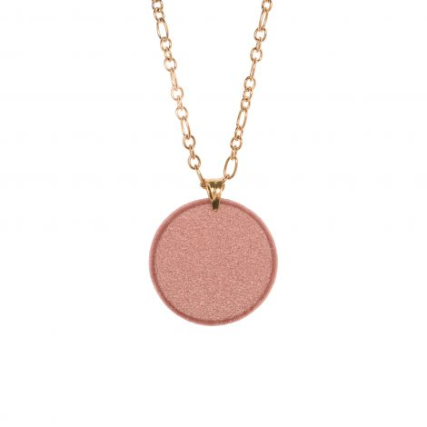 LimeLight by Katerina Sfinari dusty pink pendant