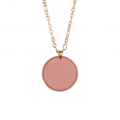 LimeLight by Katerina Sfinari dusty pink pendant