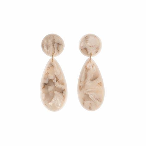 handmade polymer clay modern earrings