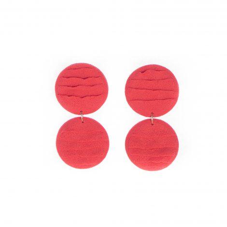 handmade polymer clay elegant earrings
