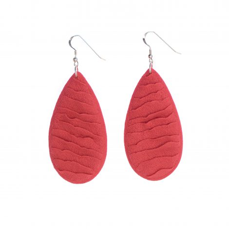 contemporary fashion statement polymer clay earrings