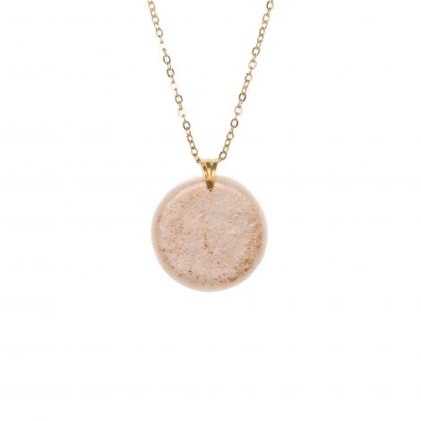 polymer clay fashion minimal pendant